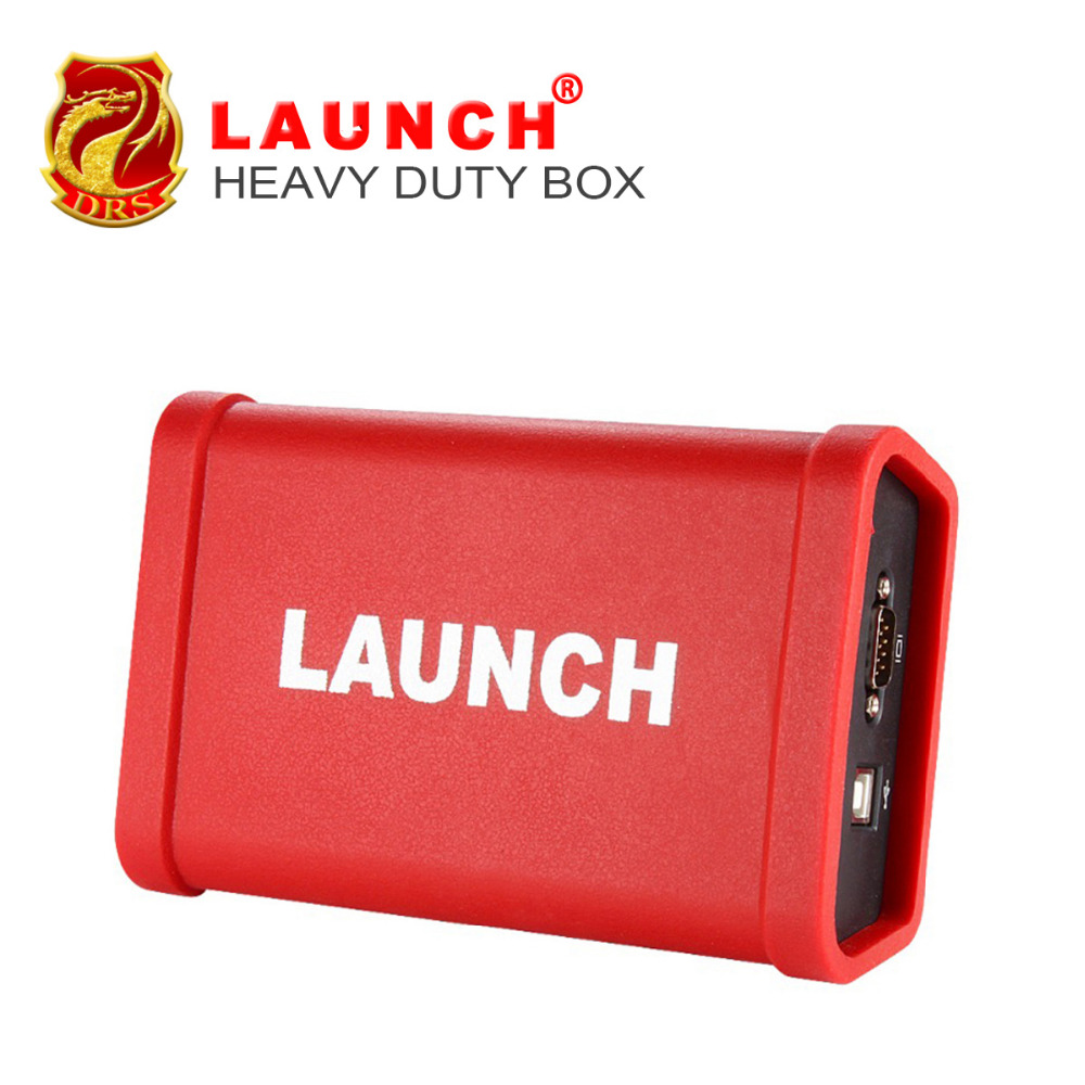 2017 Newest LAUNCH scanner X431 HD Heavy Duty Truck Diagnostic Module Work With Launch X431 V+ Software Free Update Online тестер аккумулятора launch x431