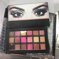 Earth 18 Colors Textured Matte Pigment Eyeshadow Palette Makeup Eye Shadow