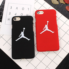 7 7Plus New Flying Man Michael Jordan Frosted PC Hard Case For iphone 7 7 Plus
