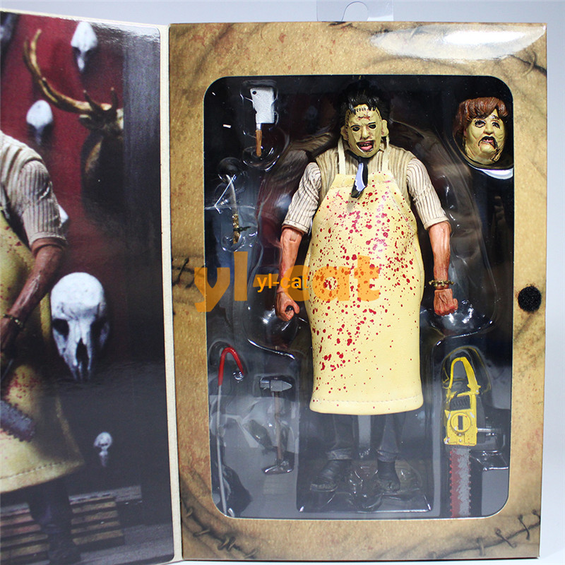 NECA The Texas Chainsaw Massacre Leatherface 40th Anniversary 7