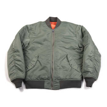 NON STOCK Retro 1972 MA-1 Flight Jacket Reversible US Air Force Bomber Coat Thick - DISCOUNT ITEM  38% OFF All Category