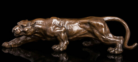0 Art Deco Sculpture Jaguar Panther Animal Bronze Statue0 Art Deco Sculpture Jaguar Panther Animal Bronze Statue