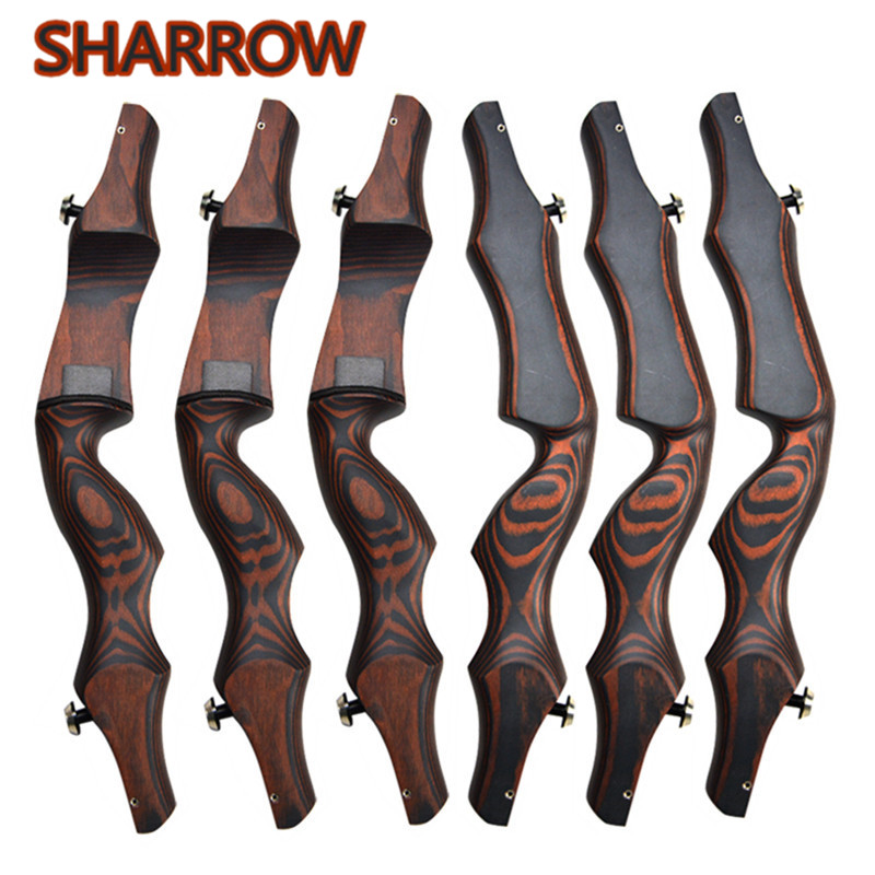19 Wooden ILF Archery Bow Riser Handle Takedown American Recurve Bow Handle Right Hand For Outdoor Hunting Shooting Accessories19 Wooden ILF Archery Bow Riser Handle Takedown American Recurve Bow Handle Right Hand For Outdoor Hunting Shooting Accessories