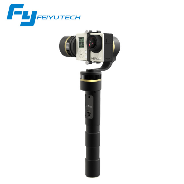 Feiyu G4 3 Axis Brushless Handheld Stabilizer Steady Gimbal for GoPro H 3-axis handheld  gopro 3 / 3 + 4 xiao yi 4K