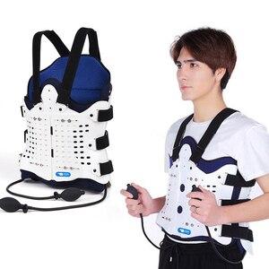 Image 1 - Подушка безопасности для поддержки спины, удобный бандаж для спины и плеч для мужчин и женщин, медицинское устройство для послеоперационного перелома, 1 комплект