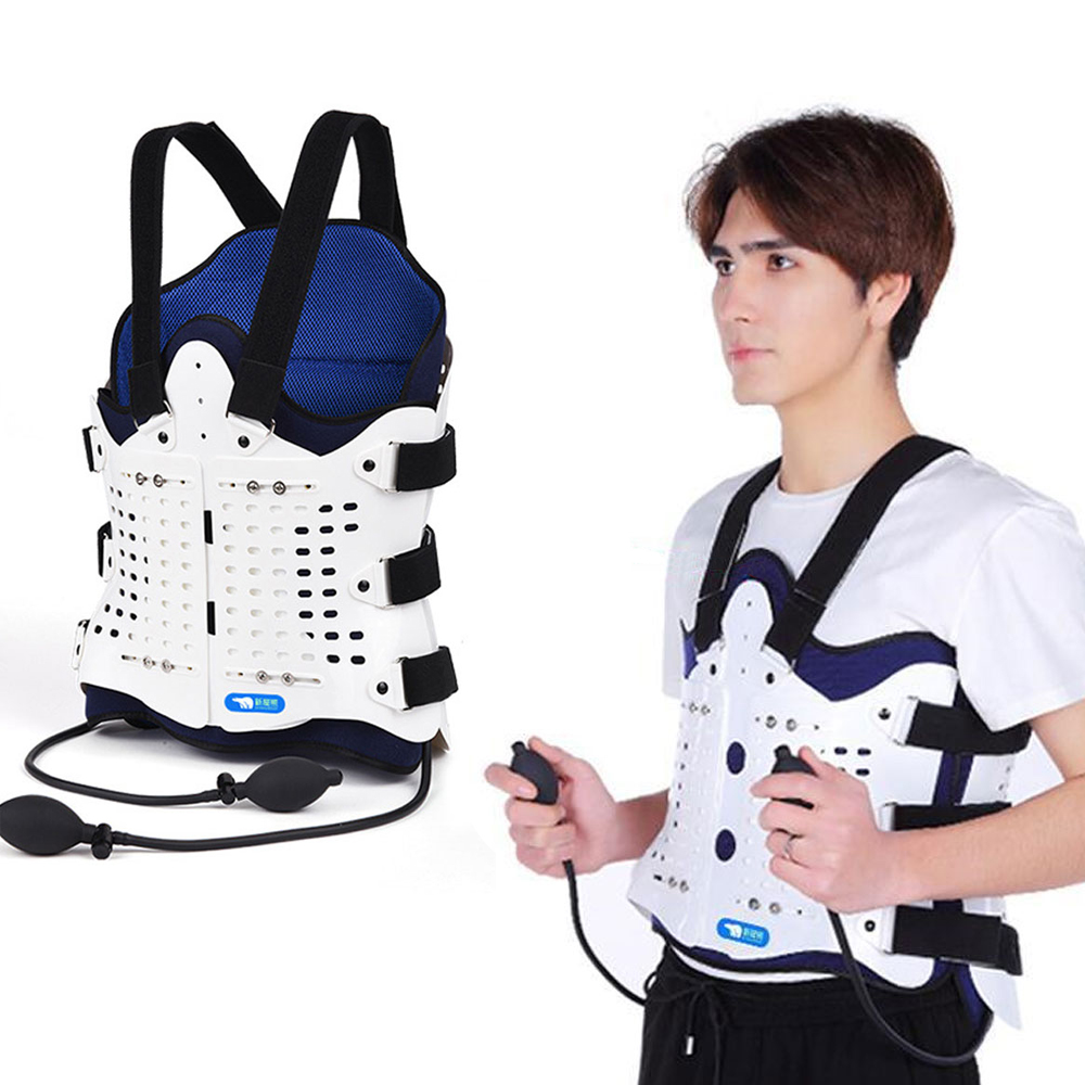 1Set Airbag Back Support Comfortable Back and Shoulder Brace for Men and Women   Medical Device Fracture Postoperative-in Braces & Supports from Beauty & Health