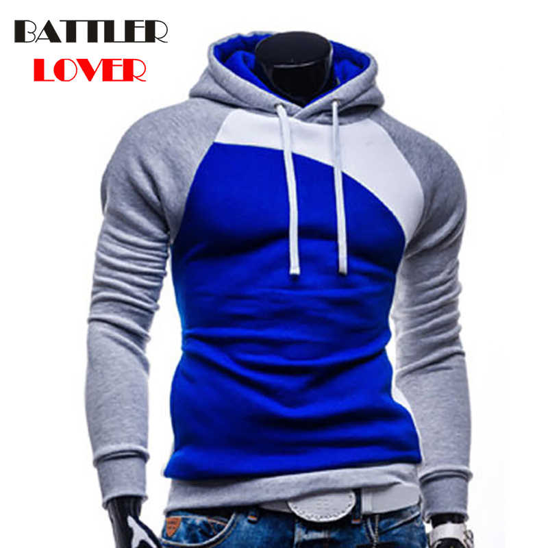 6f485c1a86dd Pullovers Hoodies Men Autumn Hooded Hoodies Mens Patchwork Sweatshirts Hip  Hops Males Casual Brand Clothing Hombre