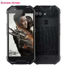 Original X2 Bussiness Leather Luxury Phone Waterproof font b Android b font 5 5 FHD 6GB