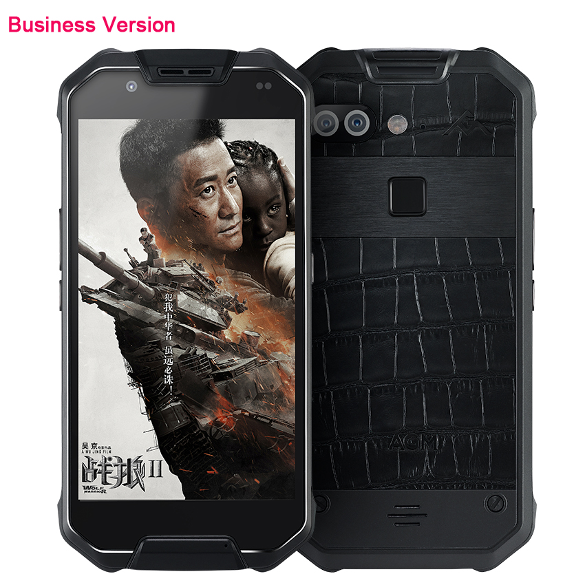 Téléphone de luxe en cuir d'affaires d'origine X2 étanche Android 5.5