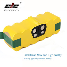 цена на Eleoption 3500mah Ni-MH Vacuum Battery for iRobot Roomba 500 560 530 510 562 550 570 581 610 650 790 780 532 760 770