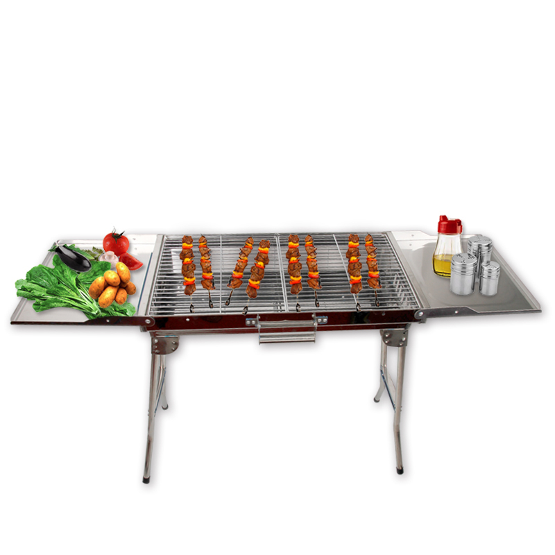 Portable Folding Barbecue Stove Barbecue Oven Outdoor Camping Household Charcoal BBQ Grill Carbon Baking Oven  цены