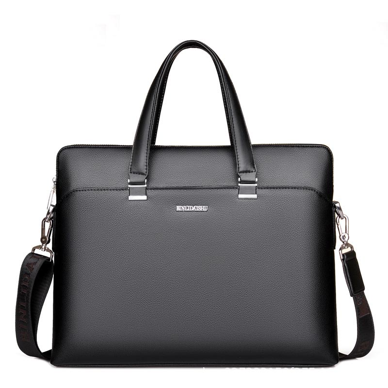 Casual Mens Business Aircraft Travel Solid Color Large Capacity Handbag High Quality Classic Brand Fashion Computer BagCasual Mens Business Aircraft Travel Solid Color Large Capacity Handbag High Quality Classic Brand Fashion Computer Bag