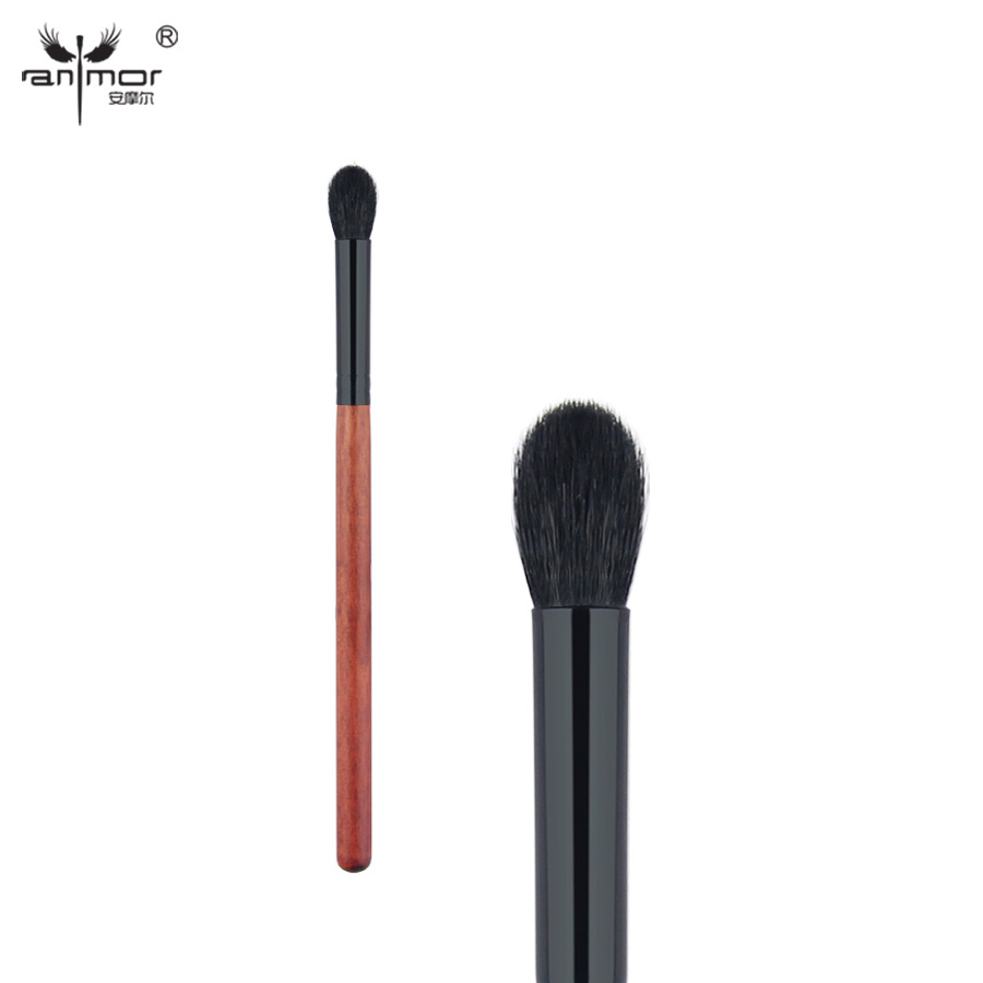 R071 Anmor Goat Hair Tapered Blending Brush Cepillos de ojos de alta - Maquillaje