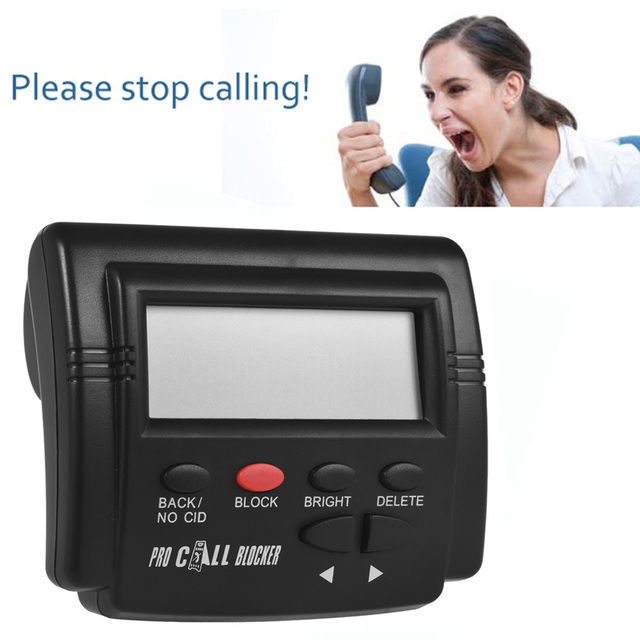 Caller ID Call Blocker Box 4