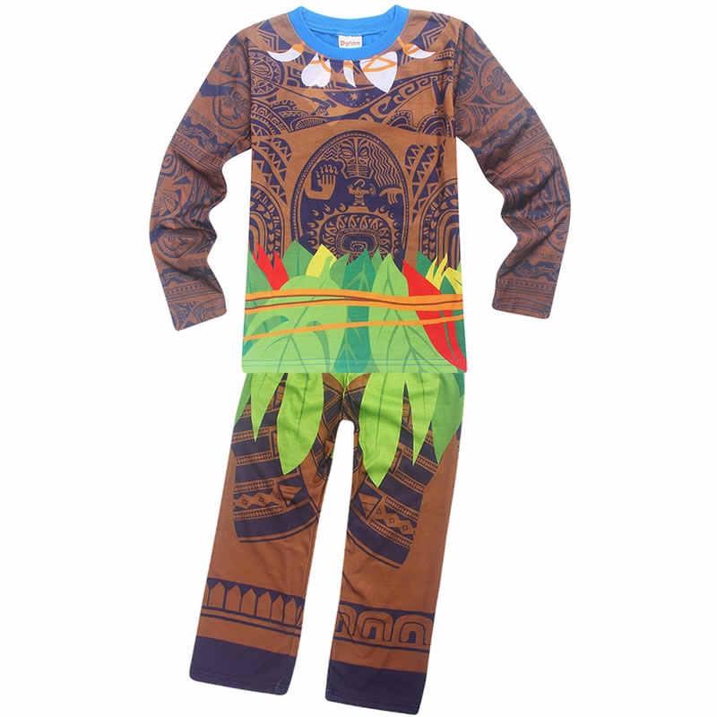 c320590e94 ... Spring Autumn Children Ninjago Pajamas for Girls Jojo Siwa Clothing Set  Pokemon Maui Pyjamas Baby Boys