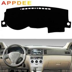 APPDEE для Защитные чехлы для сидений, сшитые специально для Toyota Corolla altis 2003 2004 2005 2006 Тюнинг автомобиля тире коврики козырек от солнца приборной ...