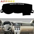 APPDEE для Toyota Corolla altis 2003 2004 2005 2006 Чехлы для стайлинга автомобилей Dashmat Dash коврик солнцезащитный чехол для приборной панели на заказ