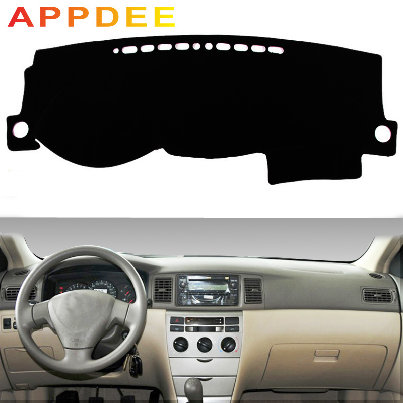 APPDEE For Toyota Corolla Altis 2003 2004 2005 2006 Car Styling Covers Dashmat Dash Mat Sun Shade Dashboard Cover Capter Custom