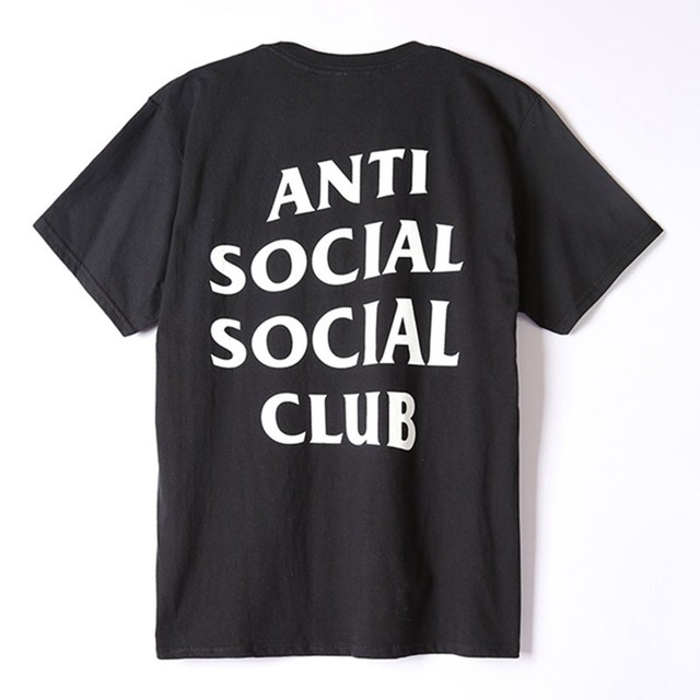 ANTI SOCIAL SOCIAL CLUB T Shirt Homme Audlt O Neck Summer Hip Hop Men t-shirt Skateboards Street Wear ASSC Tee Shirt