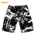VICVIK Brand Mens Quick Drying Sweat Knitted Shorts Summer Board Short Swimwear Beach Clothing Bermuda Shorts