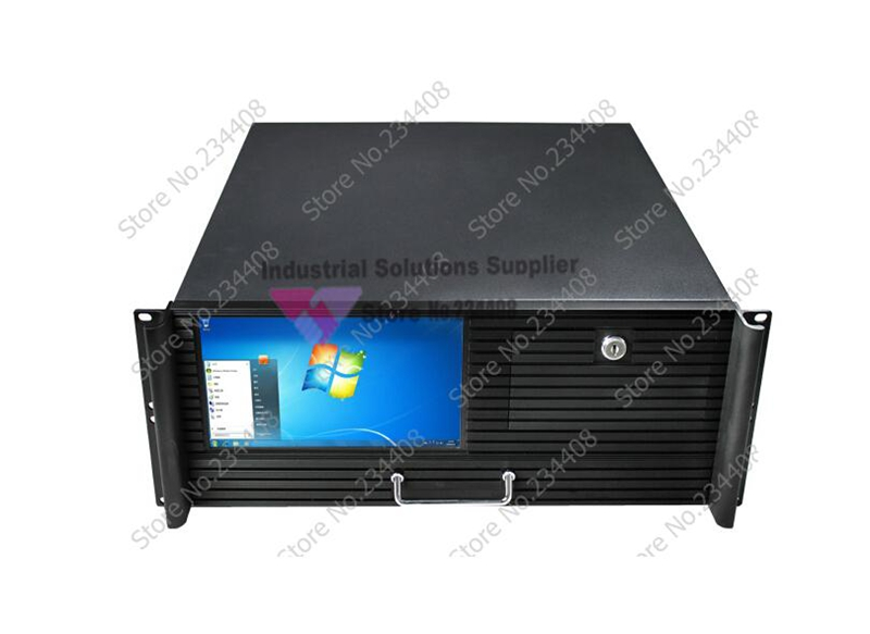 New 4U Computer Case With Touch Screen Server Computer Case