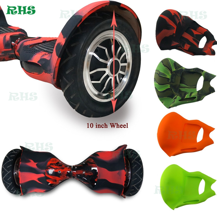10inch Hover board 2 wheels scooter silicone case/cover/wrap/sleeve/skin wholesale price ...