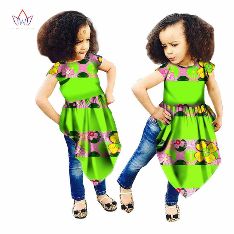 Summer Women African Clothes Customized Girl Fashion Turban African Ethnic  Geo Batik Dashiki African Print Clothing 3f94bb40a159