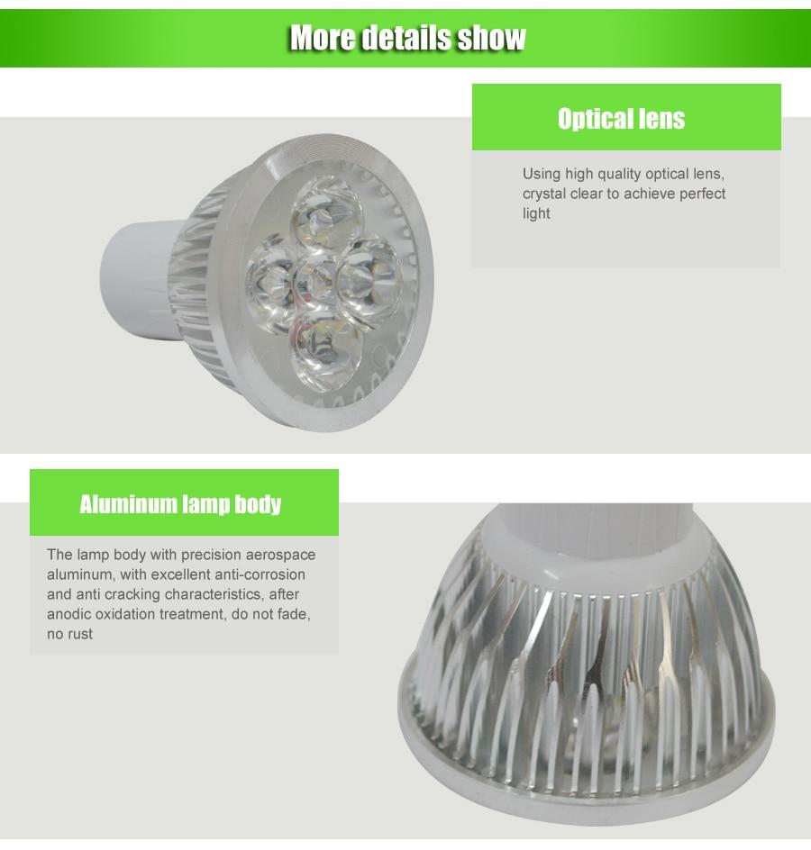 Faretti Led Gu10.Focos Led Techo Spotlight Faretti Led Spot Led Gu10 Lamp 4w