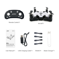 JJRC H49 SOL Ultrathin Wifi FPV Drone Beauty Mode 2MP Camera Auto Foldable Arm Altitude Hold