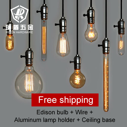 Strange Hot Selling Vintage Antique Wholeset With E27 110V 220V Edison Wiring Digital Resources Xeirawoestevosnl