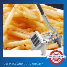 Легированная сталь Картофельная полоса фри резак машинка для нарезки чипсов ручной слайсер для картофеля ручной толчок овощей фруктов измельчитель