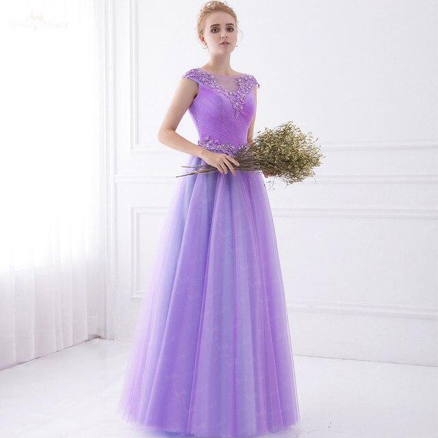 Short Purple Dresses for Evening Wedding