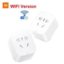2019 새로운 도착 xiao mi mi jia wifi mi 스마트 소켓 플러그 wifi 버전 무선 원격 소켓 어댑터 전원 켜기 및 끄기 전화