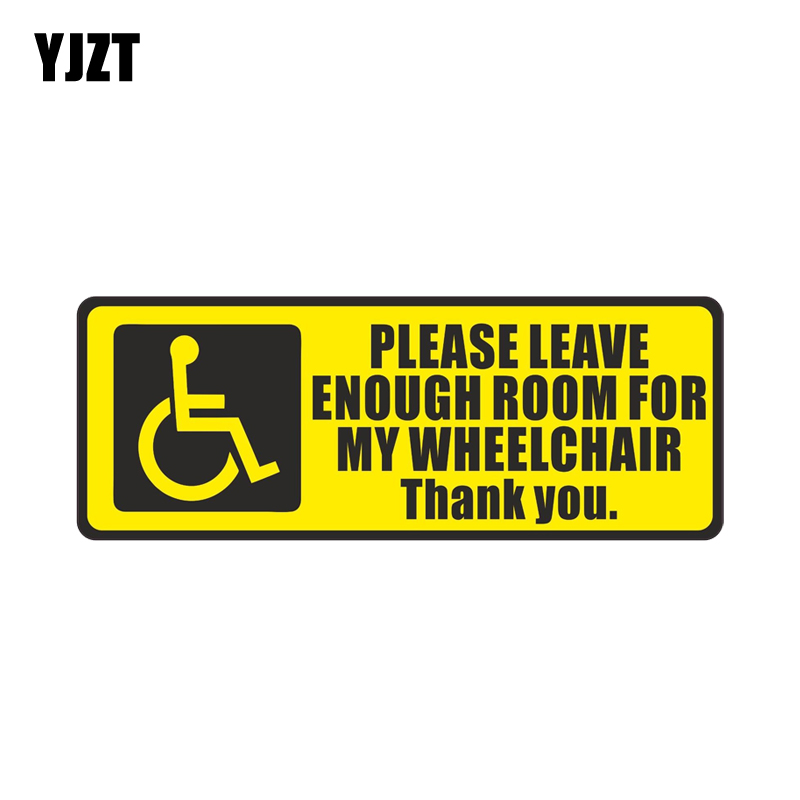 Wheelchair Handicapped Car Sticker Blue Vinyl Decal disabled 4/'/' 5/'/' 10/'/'