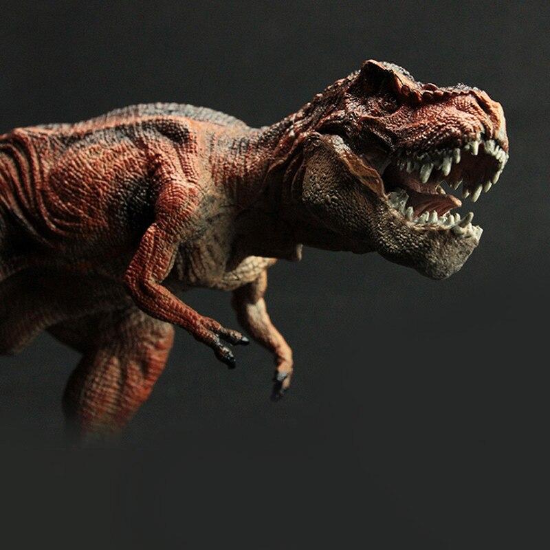 1 pièces dinosaures jouet t-rex Figure tyrannosaure Animal Rex jouet plastique animaux Figures jurassique modèle solide Simulation