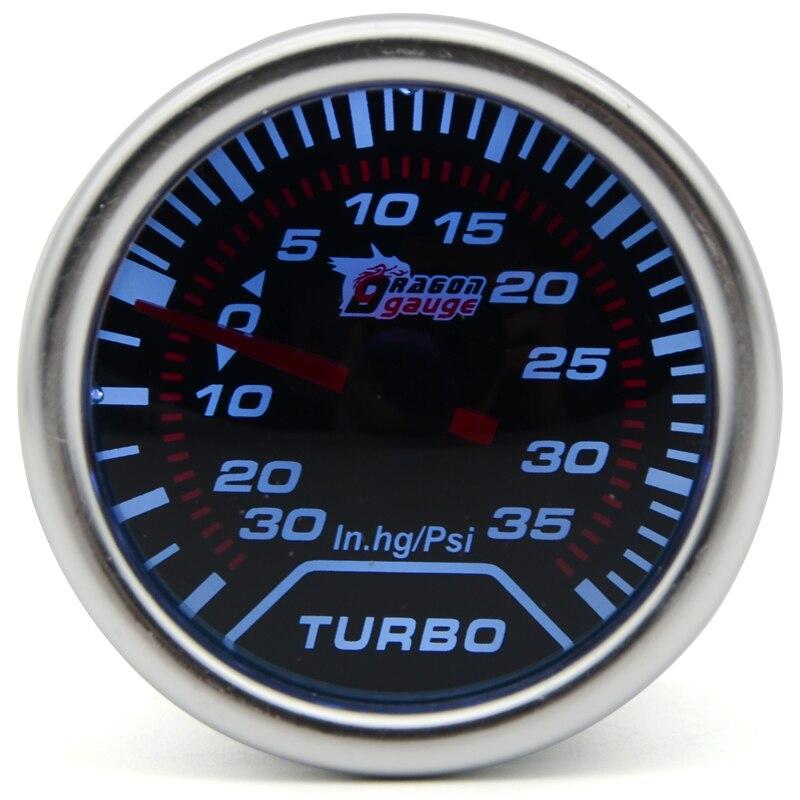 2 52mm universal mechanical turbo boost car gauge 35 psi. Black Bedroom Furniture Sets. Home Design Ideas