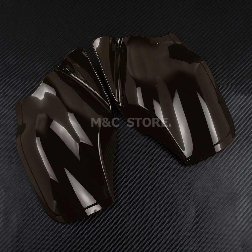 Motorrad Reflektierende Sattel Shields Luft Wärme Deflektor Rauch Für Harley Sportster Eisen 883 1200 Vierzig Acht XL1200 2014-2019