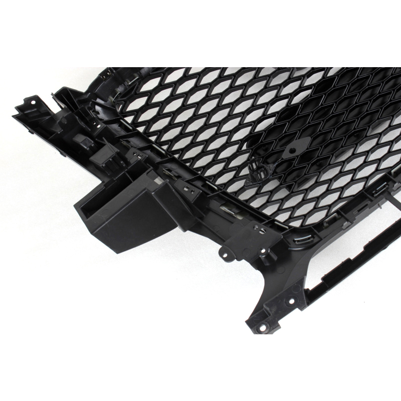 2009 2012 RSQ5 Style Black Frame Mesh front Grill Grille For Audi Q5