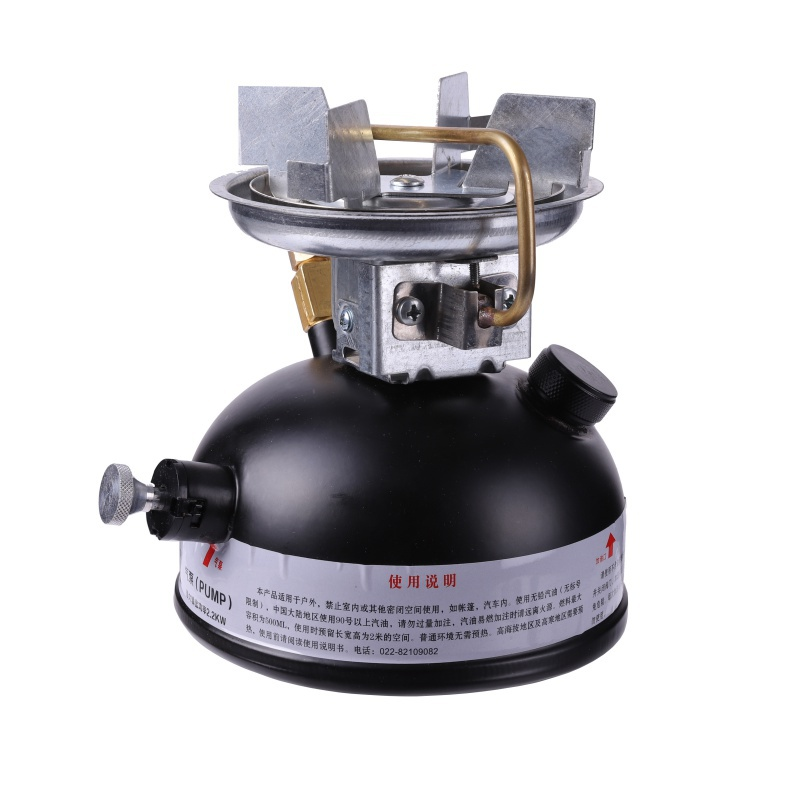 Newest stainless steel mini liquid fuel camping gasoline stoves and portable outdoor kerosene stove burners