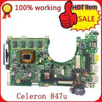 X202E S200E X201E Laptop For ASUS X202E Mainboard REV2 0 Integrated CPU 987 Onboard