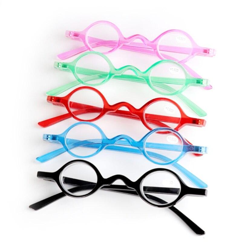 Vintage Small Round Oval Frame Reading Glasses Presbyopia Eyeglasses +1.5 To +3.5 Pakistan