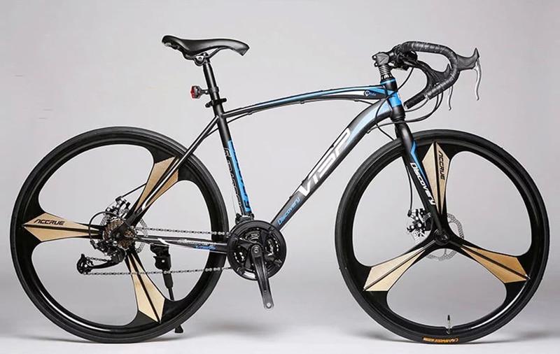 Fixie Bike DISC Brake Road Bike Frame 52cm Frame 21 Speed 27 Frame Road Bike Track Bicycle VISP Fixed Gear Cycling