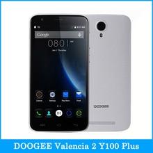 """DOOGEE Valencia 2 MT6735 Y100 Plus 5.5 """"Android 5.1 Smartphone Quad Core 1.0 GHz ROM 16 GB + RAM 2 GB OTG GSM y WCDMA y FDD-LTE"""