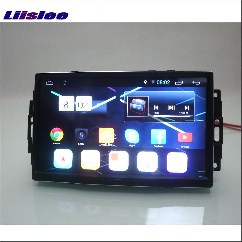 Liislee voor Chrysler 300 / Aspen - Auto Android GPS Nav navigatie - Auto-elektronica