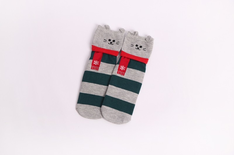 HTB12gDKdi6guuRjy1Xdq6yAwpXaY - New Design Animal Patterned Short Socks Women shiba inu Cartoon Ankle Socks Female Fashion Funny Socks Cotton Hosiery Christmas