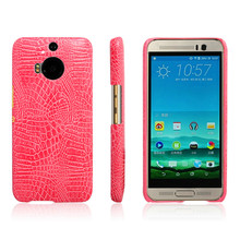 For HTC M9 Plus M9+ Case Crocodile Pattern Hard PC with PU Leather Back Cover Case for HTC One M9+ M9Plus M9 Plus Hard Cover автосигнализация sky m9