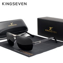 KINGSEVEN Polarized Sunglasses Men Driver Mirror Sun glasses