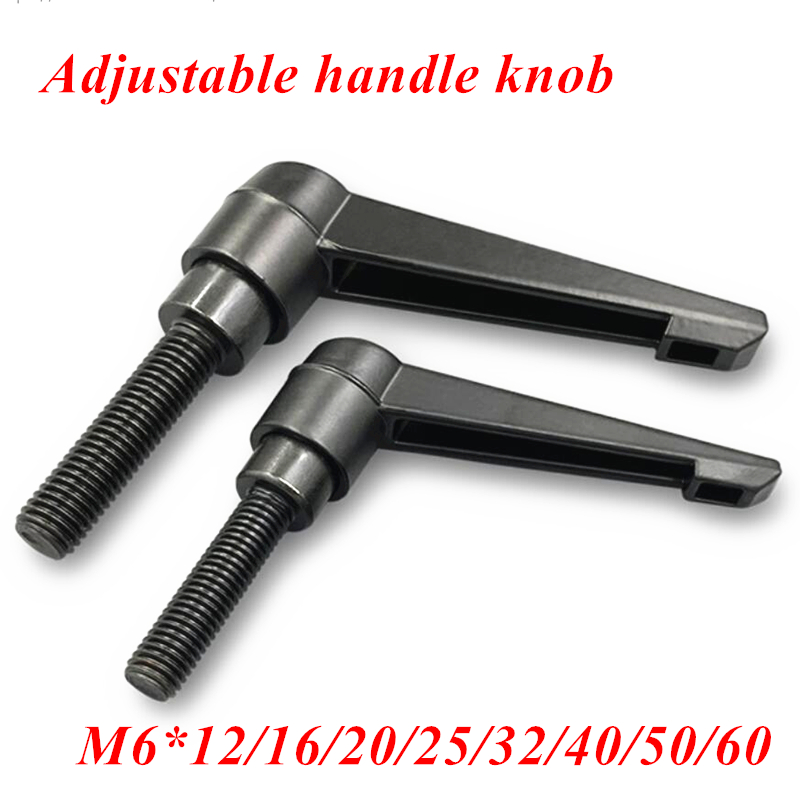 Machinery M10 x 60mm Threaded Knob Adjustable Handle Clamping Lever