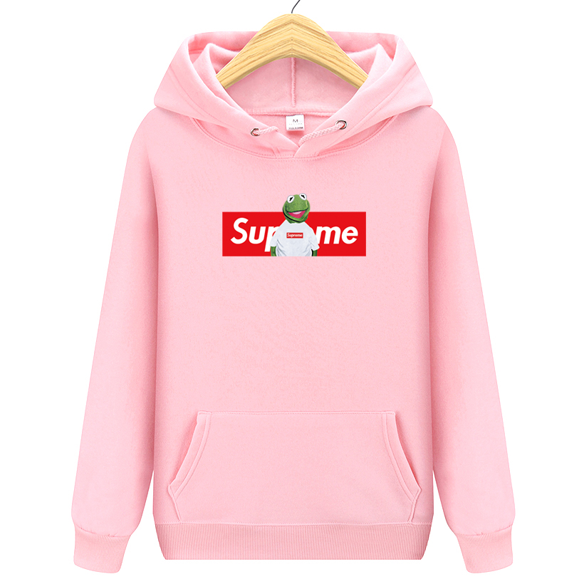 Autumn Winter Hip Hop Hoodies and Sweatshirts Suprem Letter Printed Hoodies Men Pullover Outerwear Brand Clothing Hooded