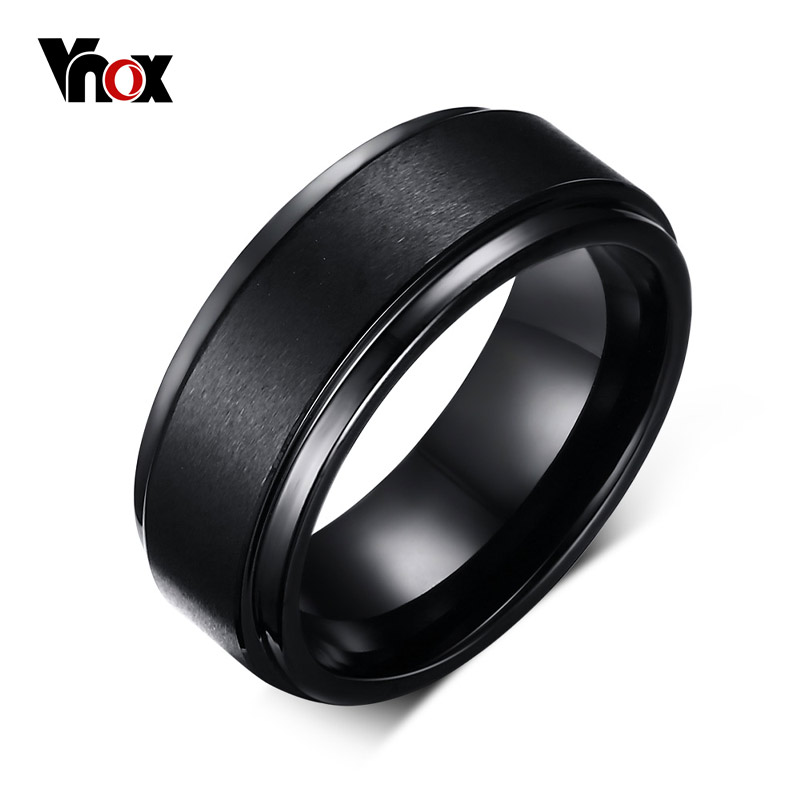Vnox Mens Wedding Rings BASIC ...
